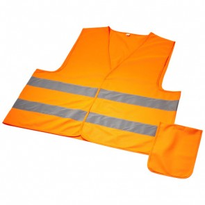 Watch-out sikkerhedsvest i pose til professionel brug