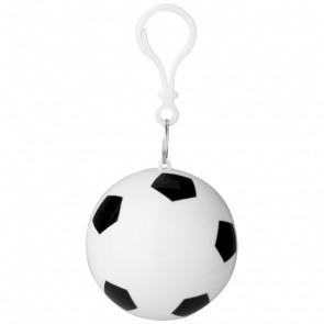 Xina regnponcho i opbevaringsfodbold mednøglering