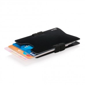 Aluminium RFID anti skimming minimalistisk etui