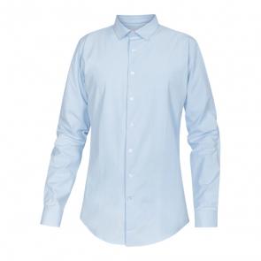 NewTurn stretch slim skjorte - lyseblå