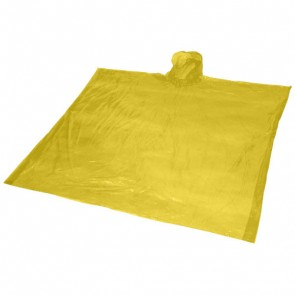 Ziva regnponcho til engangsbrug med opbevaringspose
