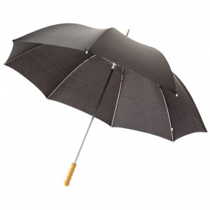 """Karl 30"""" golfparaply med træhåndtag"""