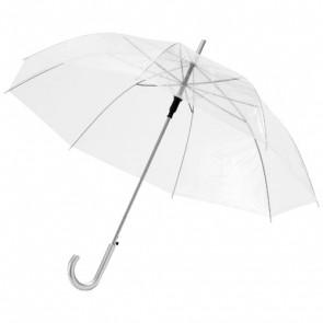 """Kate 23"""" transparent paraply med automatisk åbning"""
