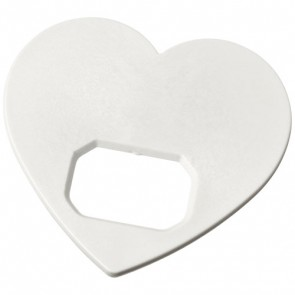 Amour hjerteformet oplukker