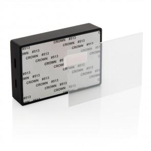 3W trådløs højtaler med hærdet glas