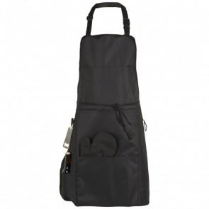 Grill BBQ forklæde med isoleret lomme