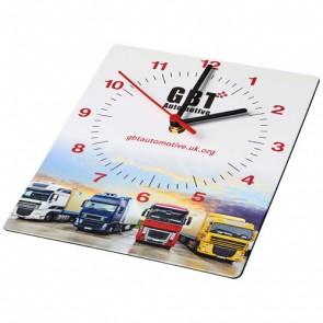 Brite-Clock® rektangulært vægur