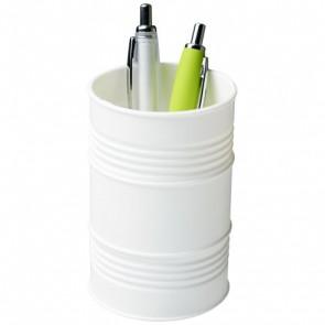 Bardo holder i plast til skriveværktøj udformet som olietønde