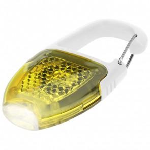 Reflect-or nøglerings-LED-lyd med karabinhage