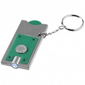 Allegro nøglering med møntholder og LED-lys
