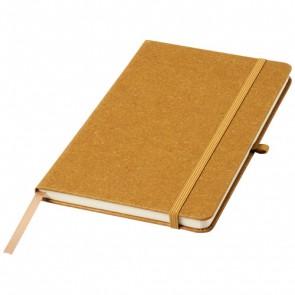 Atlana A5-notesbog lavet af læderstykker