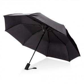 """Deluxe 21"""" foldbar paraply med automatisk åbning"""