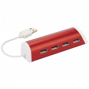 Power 4-port USB-hub og telefonholder