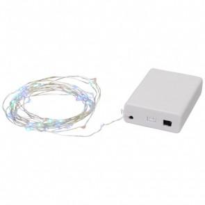 Pulse 50-LED lydaktiverede lyskæder