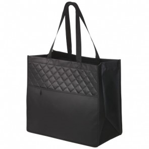 Cross, quilted lamineret non-woven taske