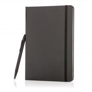 Basic hardcover A5 skitsebog med stylus pen
