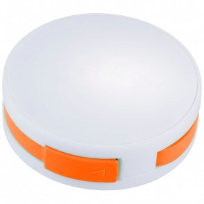 Round USB-hub med 4 porte