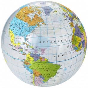 Globe transparent badebold