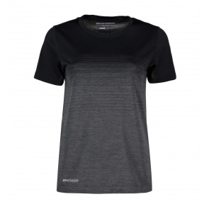 GEYSER seamless striped s/s T-shirt - dame